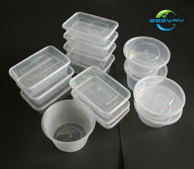 Food Takeaway Disposable Pp Plastic Container Beeway